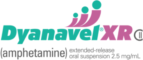 Dyanavel® XR Amphetamine Extended Release 2.5mg Patient Logo