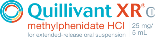 Quillivant XR® Methylphenidate HCl 25mg Patient Logo